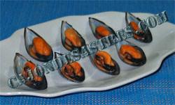 mejillones con pipirrana