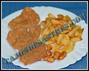 receta de pollo empanado con crujiente de maiz