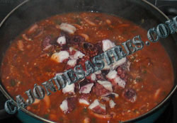 receta de arroz con calamares y pulpo