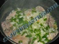 receta guisadillo de patatas con pollo