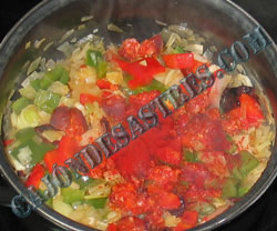 receta manitas de cerdo en salsa de verduras