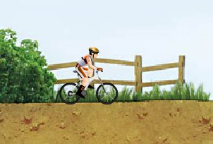 practica bicicleta
