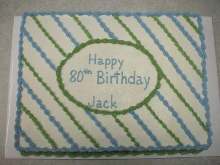 Birthday Cake Man Sheet