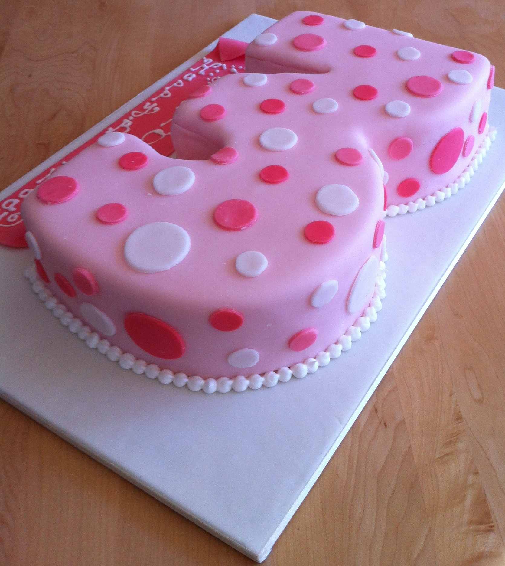 Third Birthday Cakes