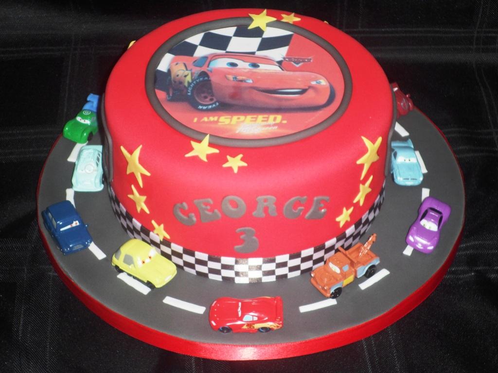 Cars Birthday Cakes