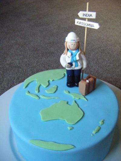 Travel Birthday Cakes