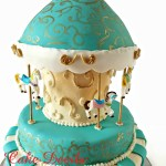 Fondant Carousel Horse Cupcake Toppers Carousel Horse Cake Decorations Handmade Edible Fondant Carousel Cake Horse Cupcake Topper