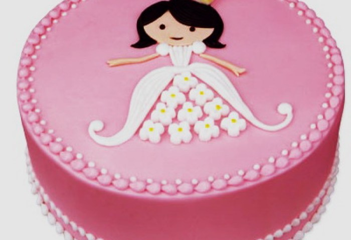 Princess Cake Fondant Cakes In Lahore Free Delivery