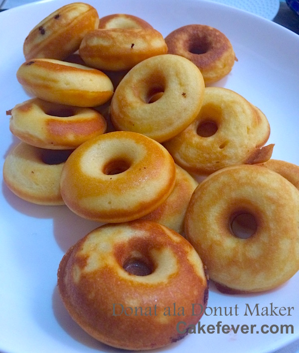 Resep donat cair donut maker