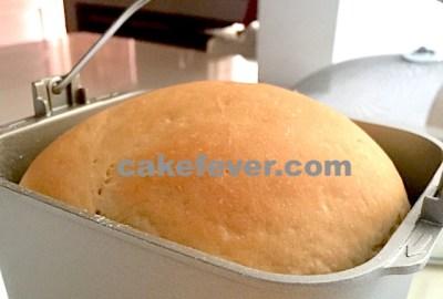 Roti tawar dengan breadmaker