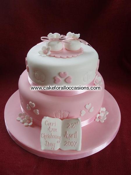 Cake C033 Christening Cakes Cakes For Celebrations