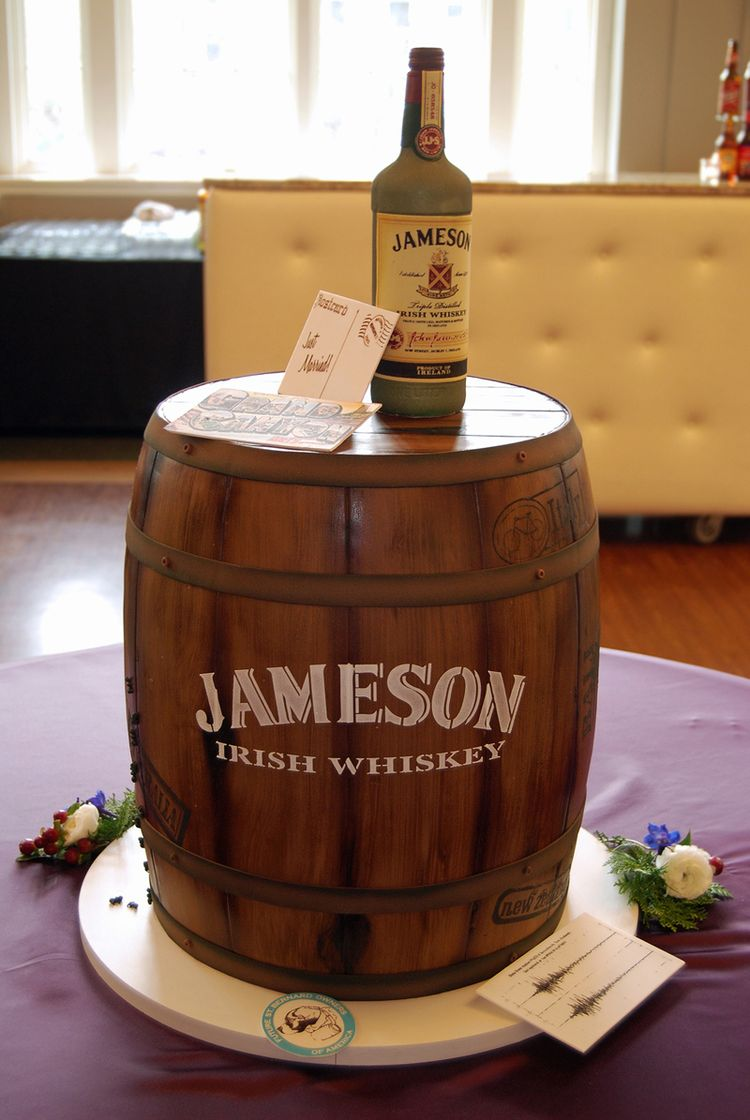 Grooms Cake Irish Whiskey