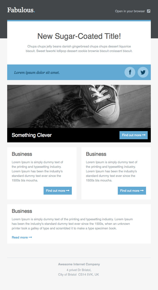 You can also use it to create anchor text and linking to an informative blog post, driving traffic to your site. Newsletter Templates Free Email Templates Cakemail Com