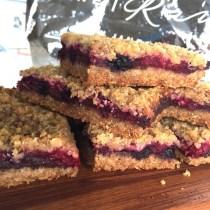 Berry Chocolate Cookie Bars