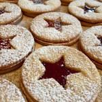 Spitzbuebe Raspberry Sandwich Cookies