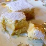 Passionfruit Lemon Delicious Slice