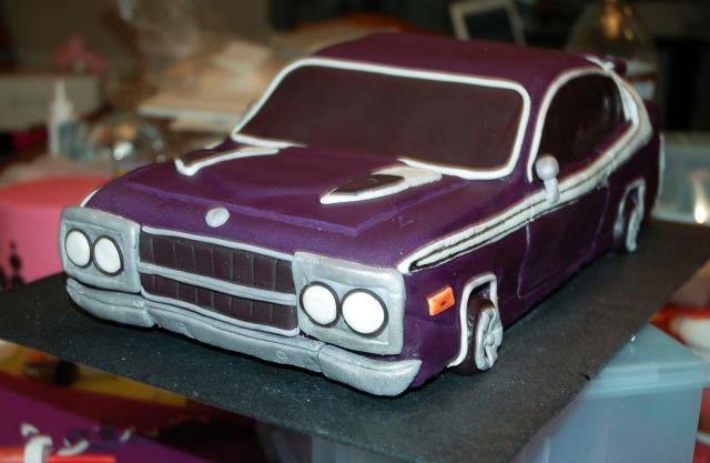 Purple Car Birthday Cake Jpg 1 Comment Hi Res 720p Hd