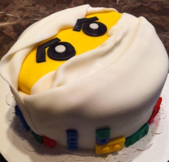 Ninjago Face Cake Picture Jpg