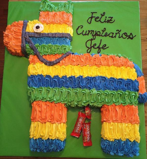 Horse Pinata Shaped Cake Photos Jpg Hi Res 720p Hd