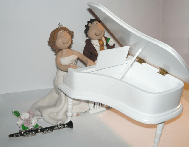 Wedding Cake Toppers Music Wedding Cake Toppers
