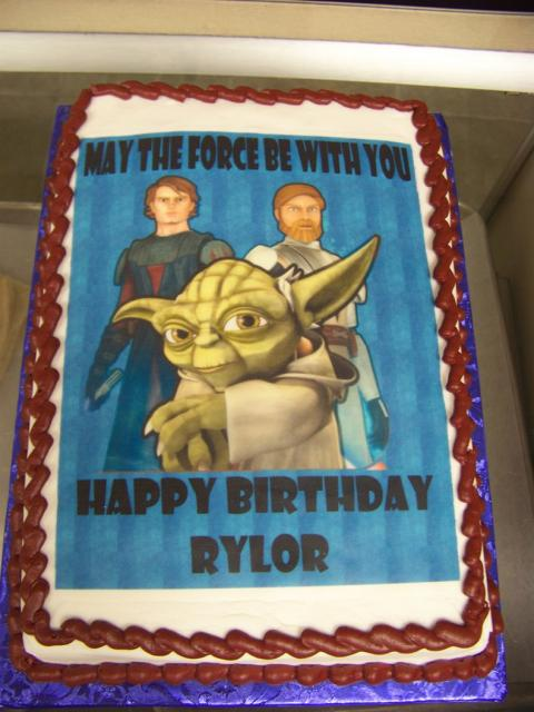 Star Wars Birthday Cake Jpg 1 Comment Hi Res 720p Hd