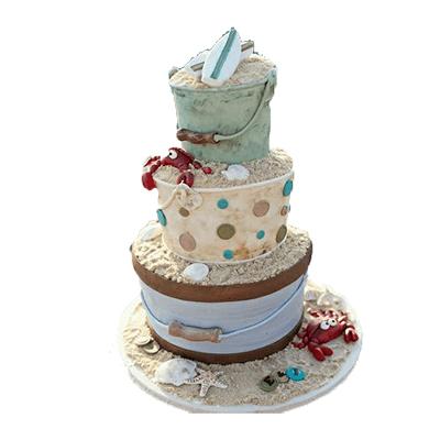 Sand Buckets Cake