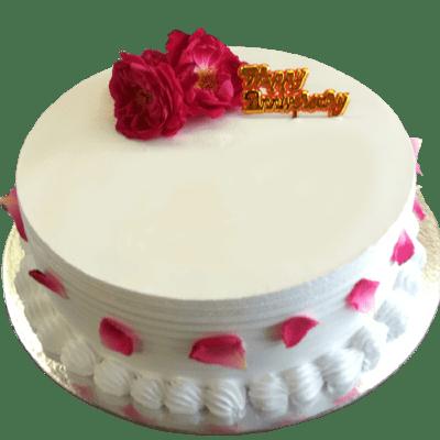 Shahi Gulkand Cake