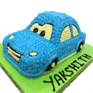 Cartoon Car Cake