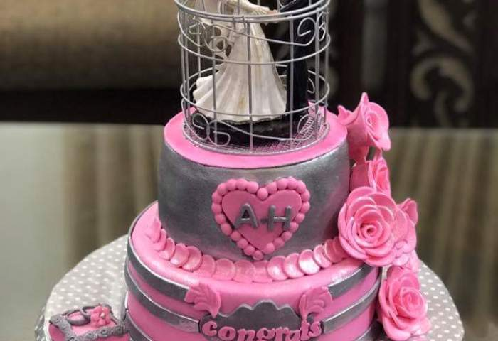 Affordable Engagement Cake Prices In Lahore Cakescompk