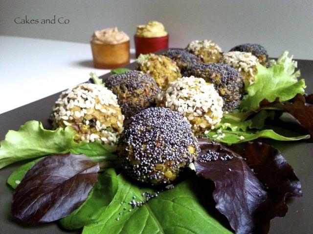 Polpettine di quinoa e roveja