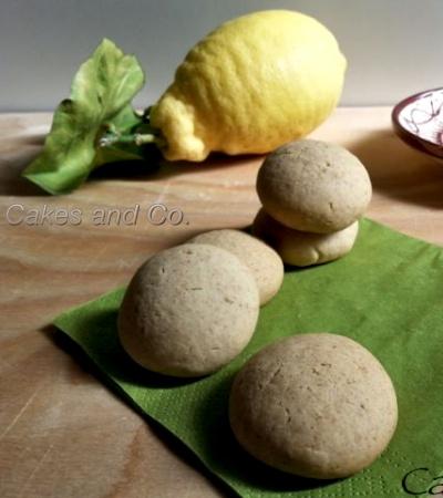 Biscotti zenzero fresco e limone