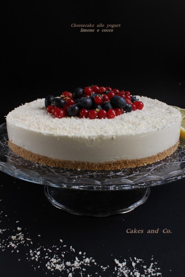 Cheesecake allo yogurt
