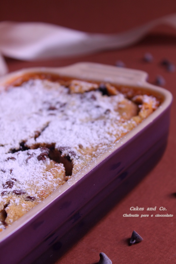 Clafoutis pere e cioccolatoIMG_0040