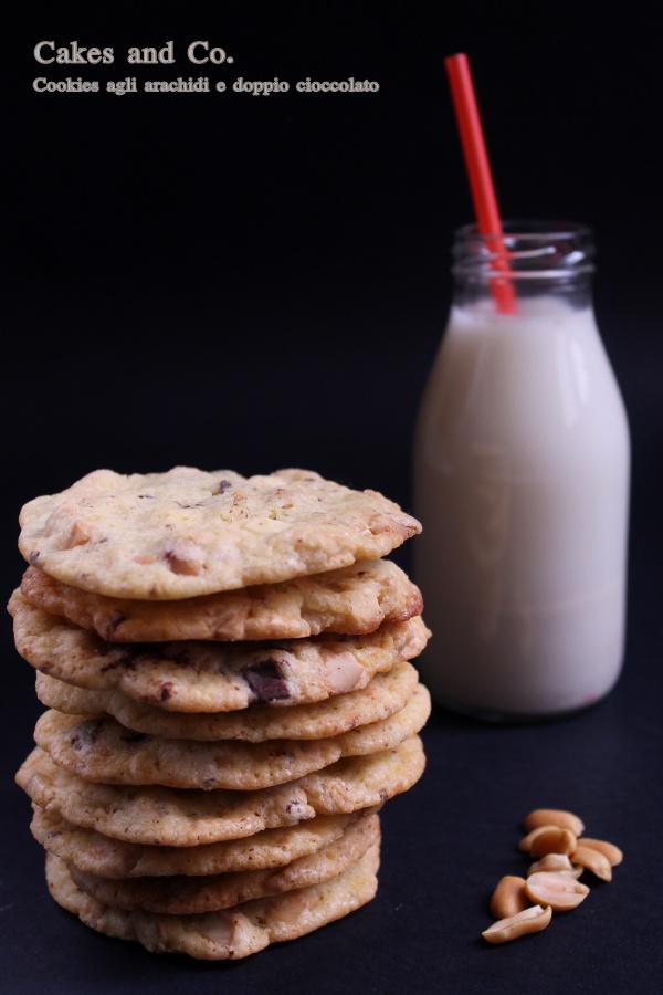 Cookies agli arachidi e doppio cioccolatoIMG_0248