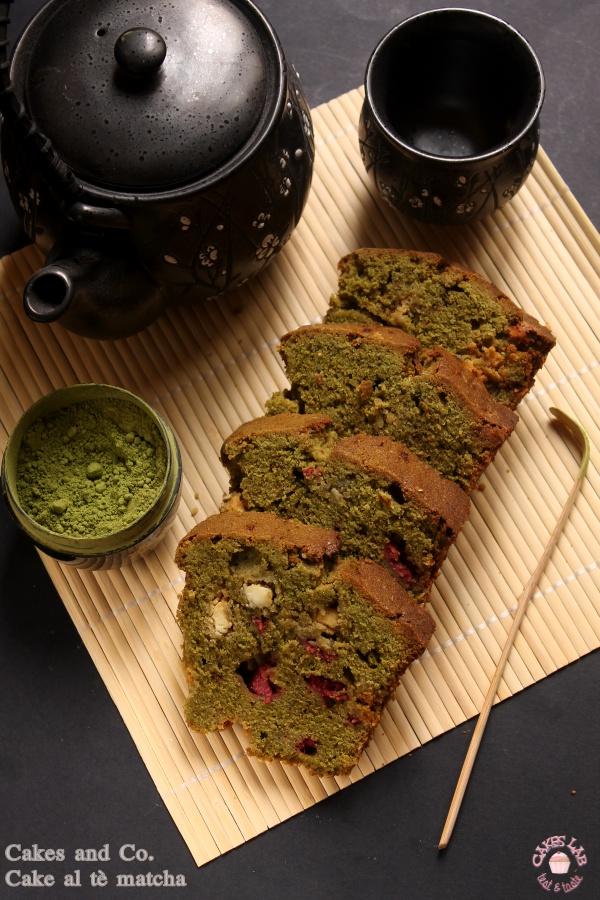 Cake al thé matcha per Cakes Lab