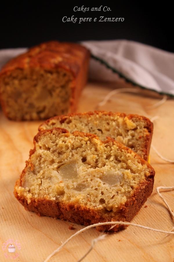 Cake con pere e zenzero per Cakes lab