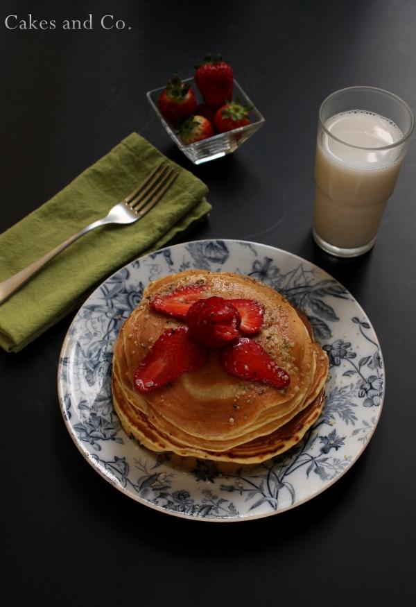 Pancakes alle fragole