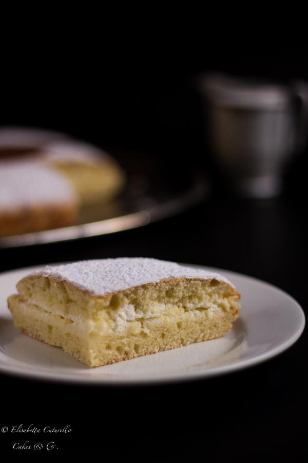 Schiacciata fiorentina con pasta madre un dolce della tradizione del carnevale fiorentino