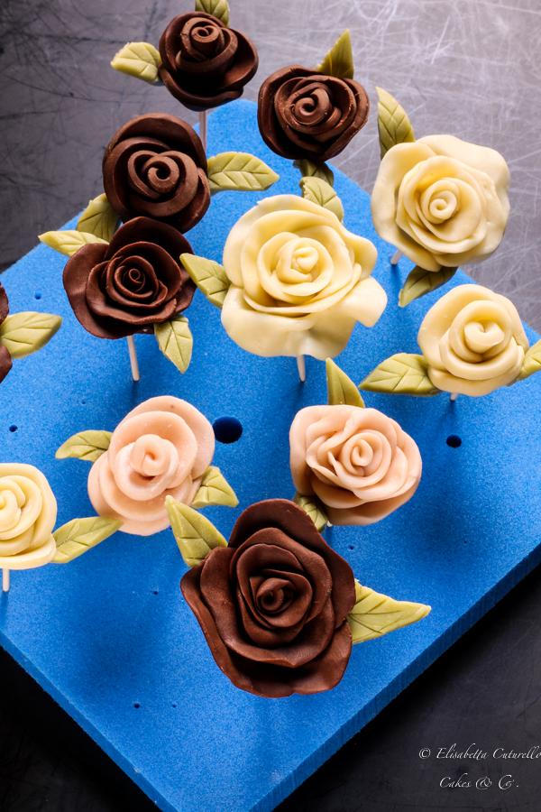 Il cioccolato plastico l'alternativa alla pasta di zucchero