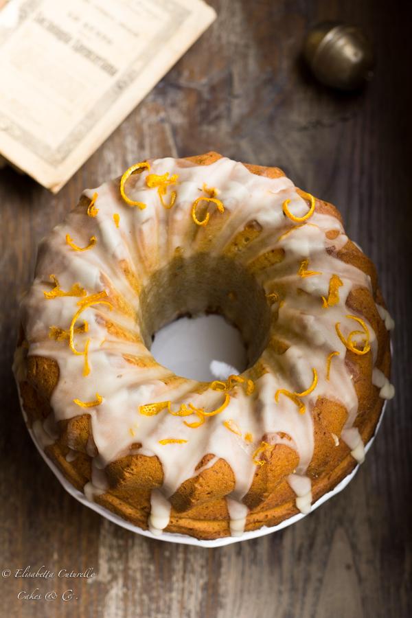 ciambella alle patate dolci: sweet potato cake. La ciambella dolce americana sofficissima e profumatissima.