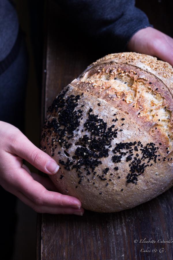 Pane ai ceci a lievitazione naturale