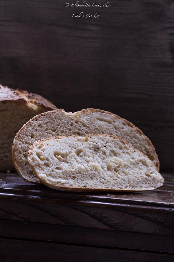 Pane ai ceci a lievitazione naturale per Nuova Terra