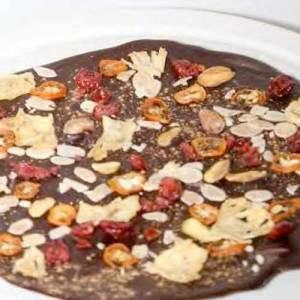 Festive Chocolate pizza