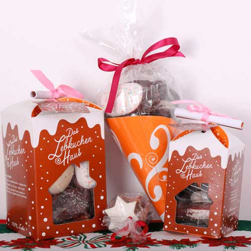 Assortment of handmade Lebkuchen