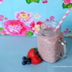 Sunday Smoothie: Strawberry – Blueberry Smoothie
