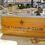 Entrance harbour club Ibiza