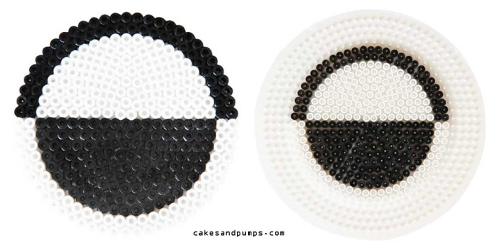 Coaster3, made of hama ironing beads
