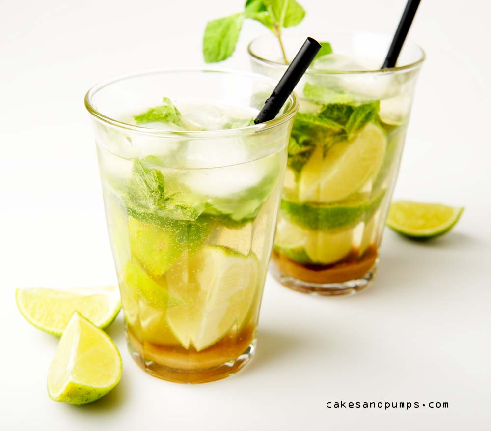 Cocktail Mojito metrum, mint en limoen voor Cocktail Friday