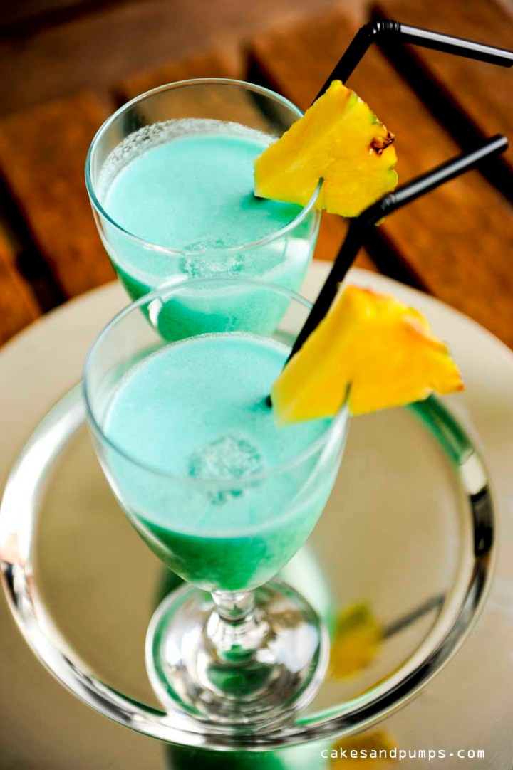 Blue curacao for cocktail friday