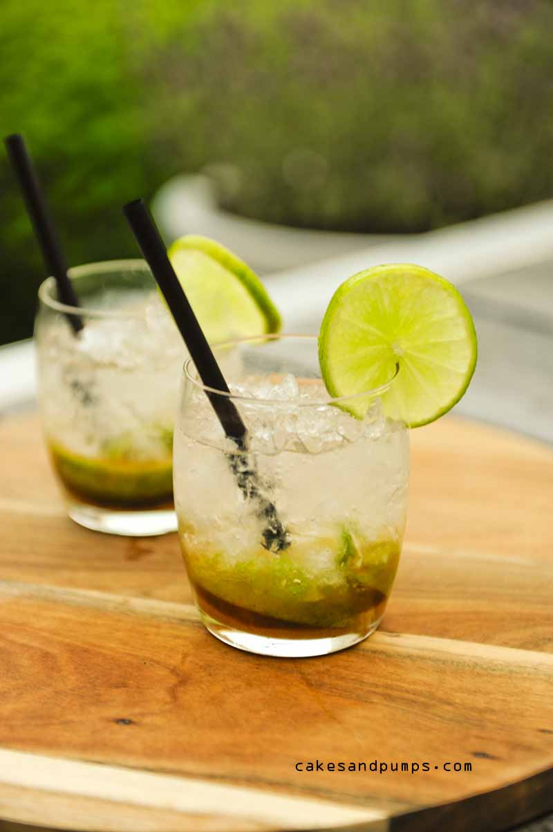 Caipirinha with Cachaca for cocktail friday